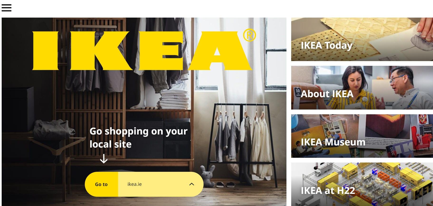 Ikea grid design