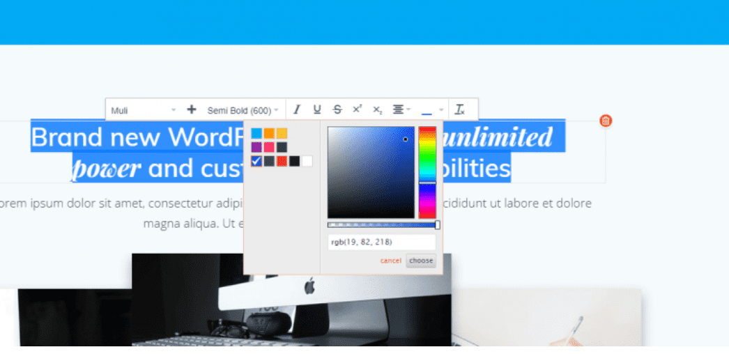 How to change fonts, colors and size in WordPress - ColibriWP