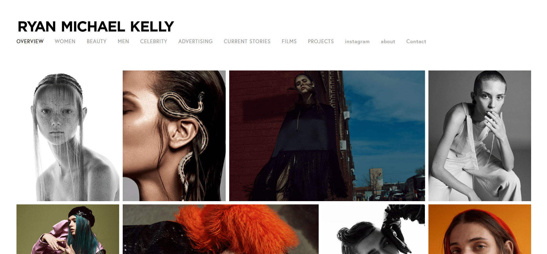 photographer website for your inspiration