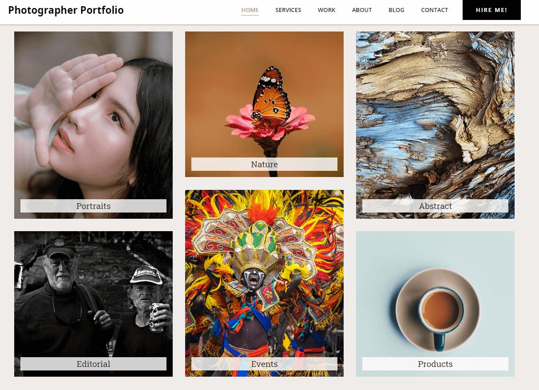 choose Colibri WordPress template