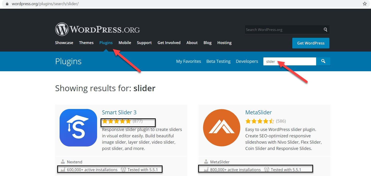 wordpress slider plugins