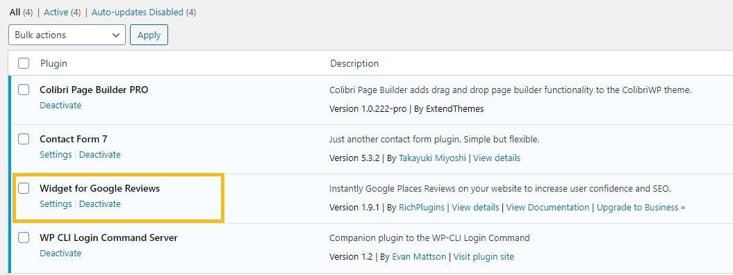 Setting up a WordPress plugin
