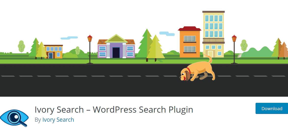 Ivory - WordPress site search plugin
