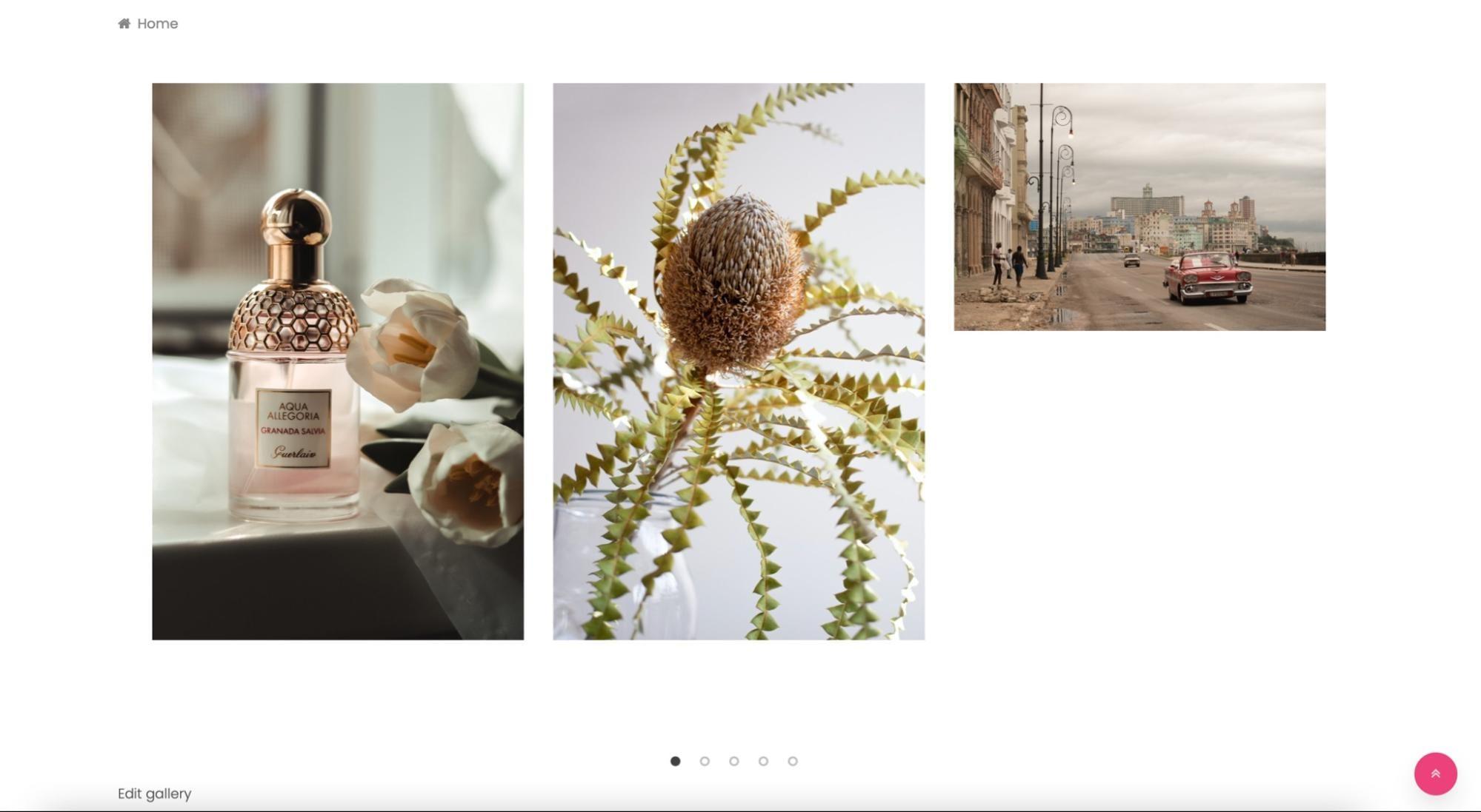WordPress slider gallery