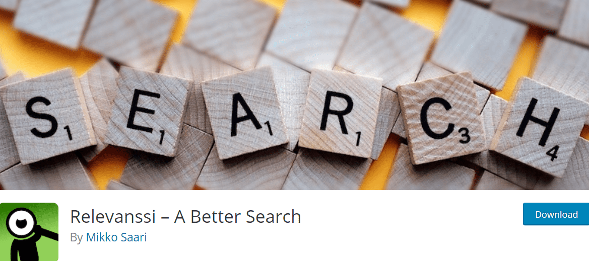 Relevanssi WordPress site search