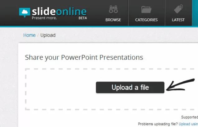 SlideOnline WordPress plugin for PowerPoint embeds